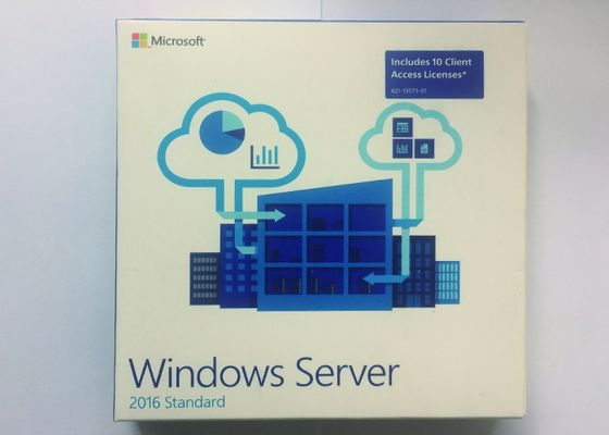 Paquet 64Bit Windows Server de FPP les 2016 anglais d'OEM de norme 1 gigahertz