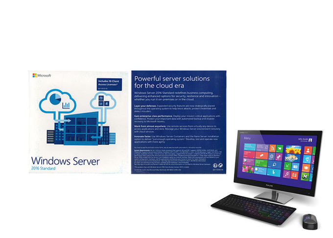 Norme du serveur 2016 de Microsoft, édition standard d'OEM FPP de Windows Server 2016